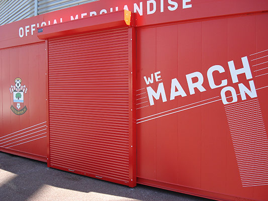 SCS Seceuro Shield Roller Security Shutter 3800
