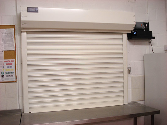 ScS Fire Rated Roller Shutters & Flame Curtains