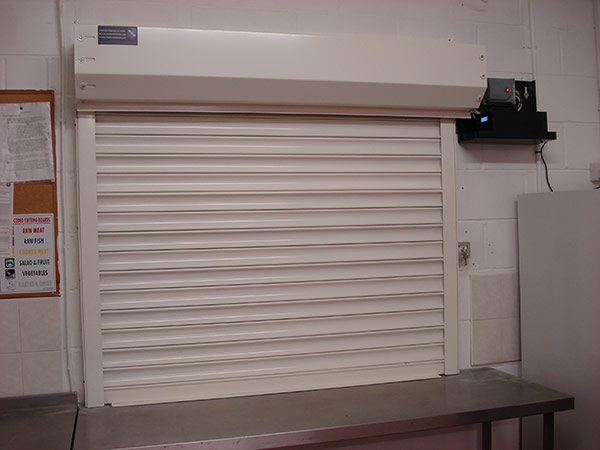 ScS Fire Rated Roller Security Shutter