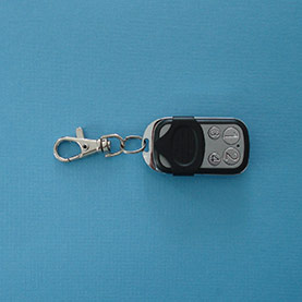 Four channel remote key fob