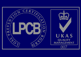 Loss prevention certification board logo