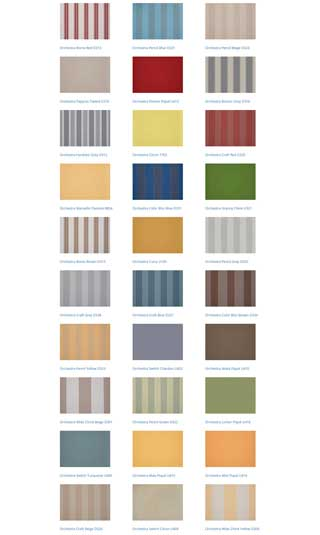 south coast shutters awnings colours 5
